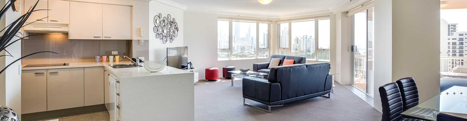 2 Bed Bedroom two bedroom | premiere apartments | gold coast | belle maison